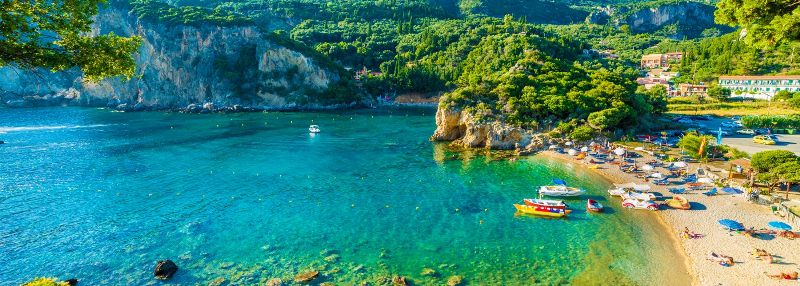 Beauty of Corfu Island