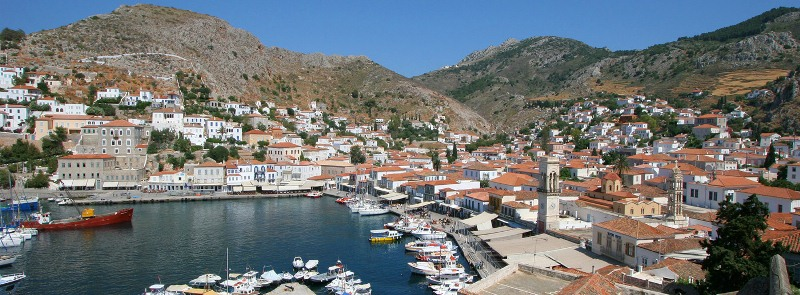 Bay of Hydra Island