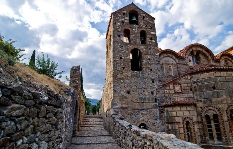 Fortified city Mystras