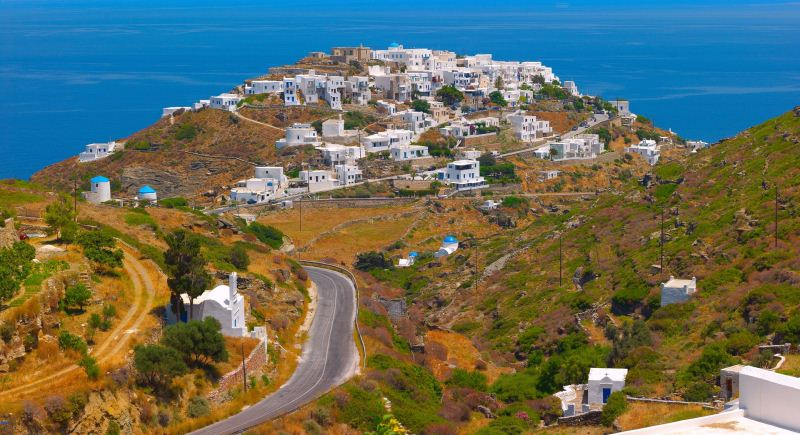 Majestic nature of Sifnos