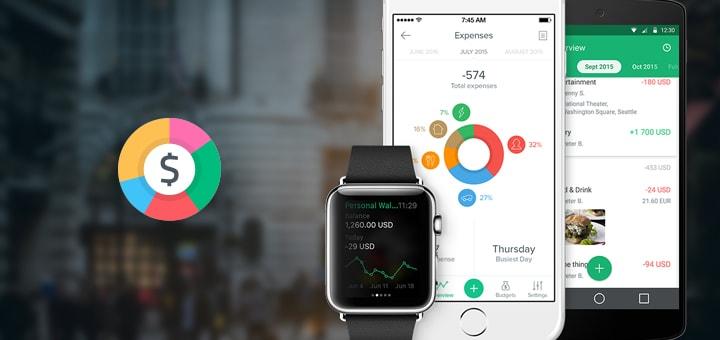 Spendee budgeting app
