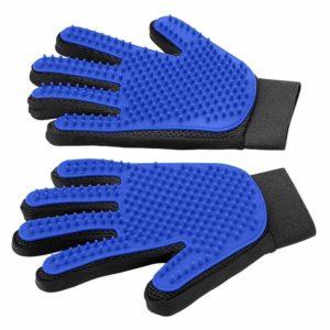 Pet hair gloves.