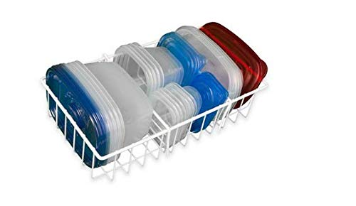 Food storage container organizers.