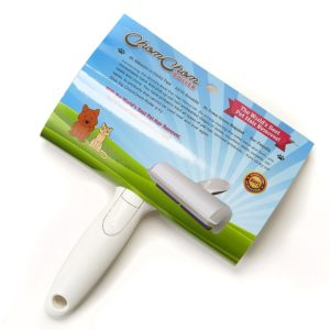 Roller pet hair remover.