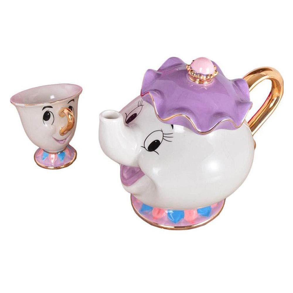 Cartoon ceramic set.
