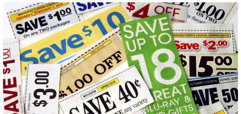 Discount coupons and deals