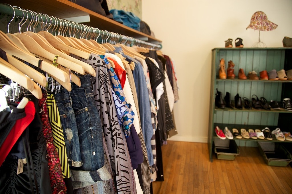 Fashion clothes at home