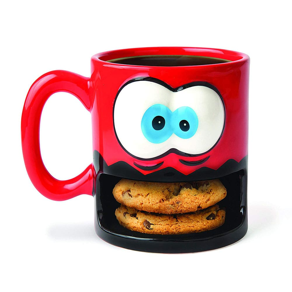 Milk and cookies holder.